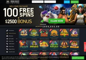 vegascrestcasino Magnificent Gambling Slots